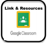 google classroom link and resources
